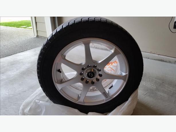 core racing  evo  rims  snow tires west shore langfordcolwoodmetchosinhighlands