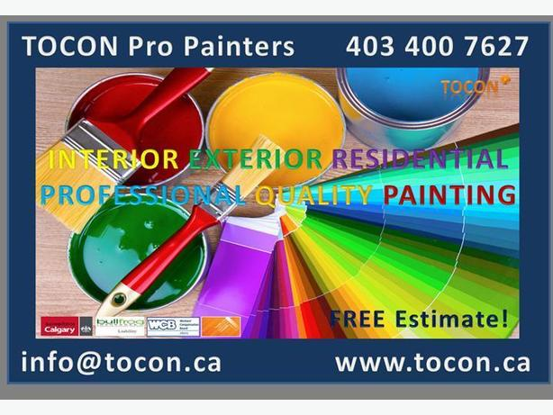 Calgary Fresh Painted Homes On Time And Budget! Low Painting Cost
