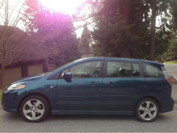 2007 MAZDA5 GT, LEATHER