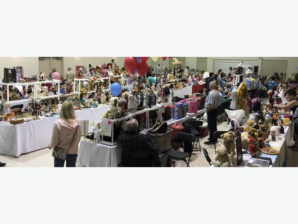 CALGARY DOLL CLUB, Doll, Bear, Toy, Barbie, Miniature SALE & SHOW