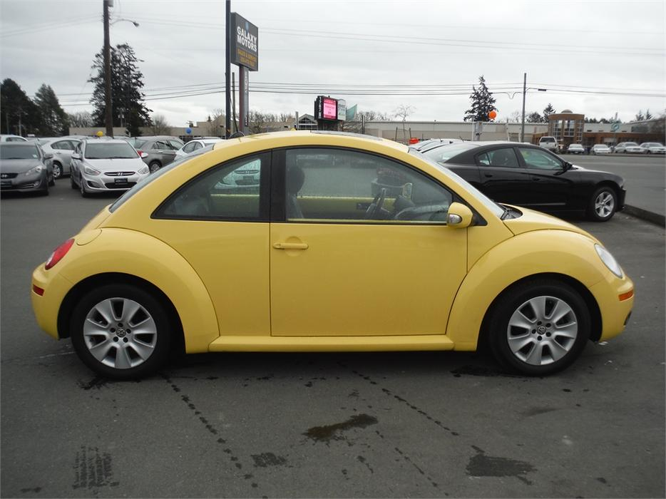 2008 Volkswagen New Beetle Trendline Leather Power