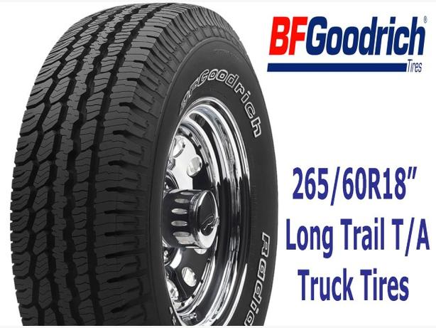 "265/60R18"" BF Goodrich Long Trail T/A"
