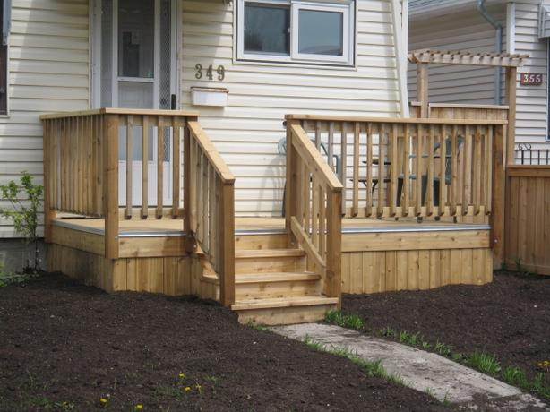 front porch specialist & rear decks