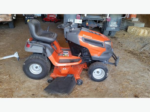 Lawn Tractors With Locking Differentials : Quot husqvarna lawn mower obo east regina