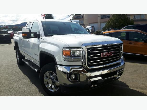 used 2016 gmc sierra 2500 slt double cab 4x4 diesel for sale in parksville outside victoria. Black Bedroom Furniture Sets. Home Design Ideas