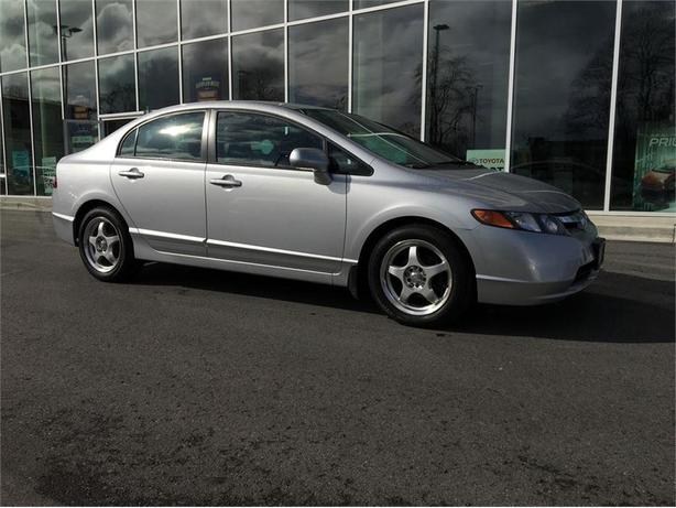 2007 Honda Civic LX LOCAL B.C. ONE OWNER