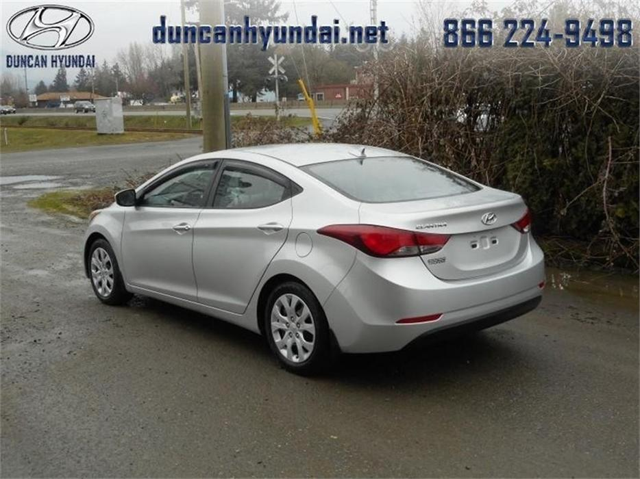 2013 Hyundai Elantra Gl Low Mileage Outside Nanaimo Nanaimo