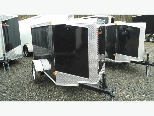 NEW 4X8 ENCLOSED TRAILER