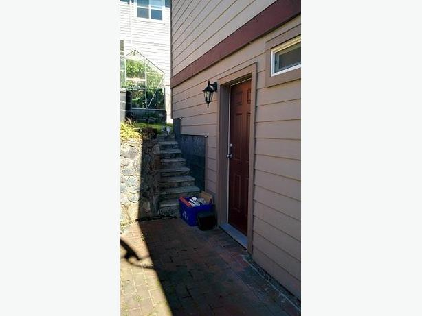 One Bedroom Basement Suite With Private Entrance Saanich