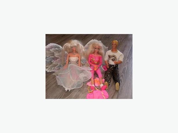 barbie dolls , ken ,Stacie