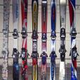 120cm & 125cm Skis c/w Bindings