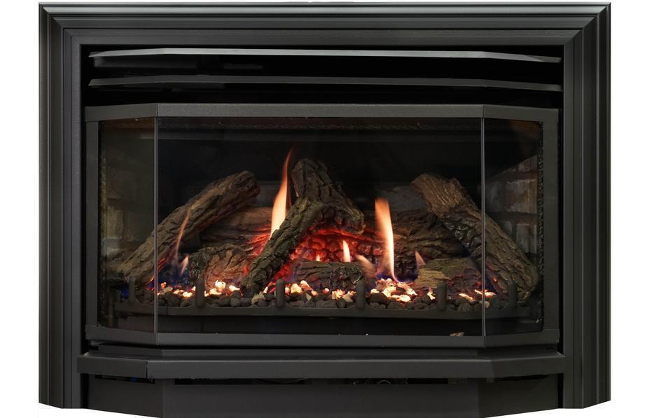 gas fireplace insert archguard optima 30 saanich victoria