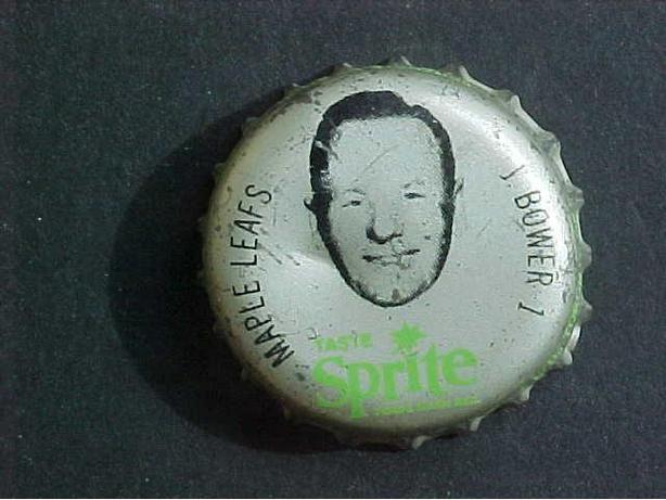 JOHNNY BOWER SPRITE BOTTLE CAP
