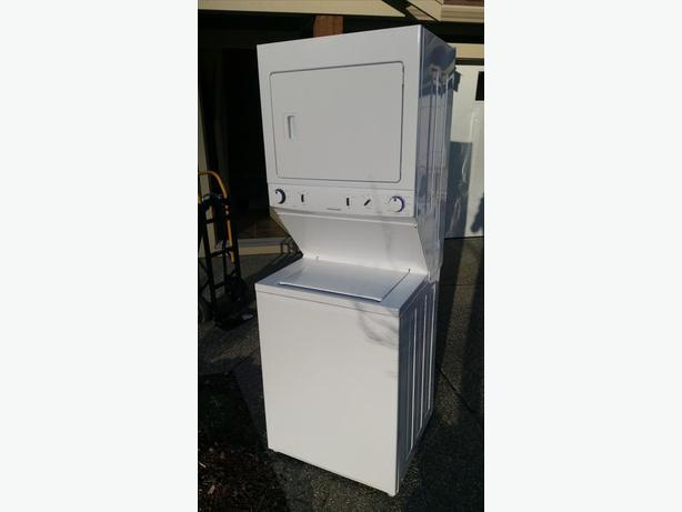 Frigidaire Stacked Laundry Center Only 2 Years Old Saanich