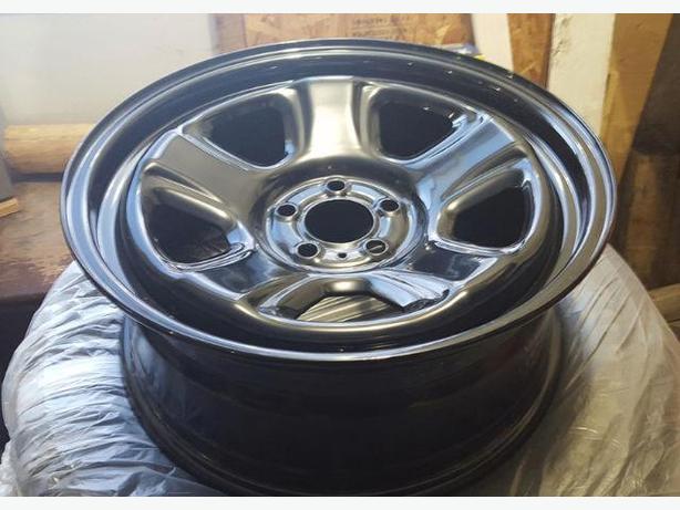 """4 - 18"""" x 7.5"""" MOPAR OEM Steel Wheels with TPS"""