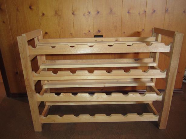 Wine Rack - wooden