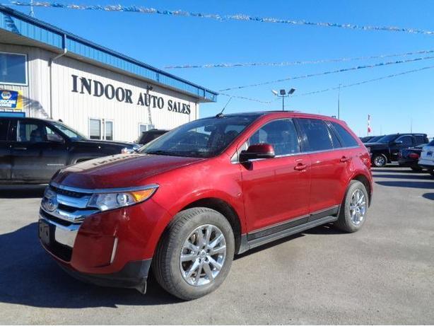 Ford Edge Limited I Indoor Auto Sales Winnipeg