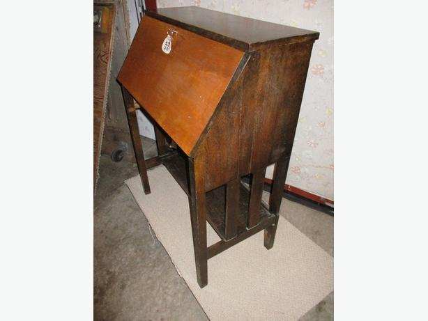ESTATE EARLY 1900 OAK SECRETARY