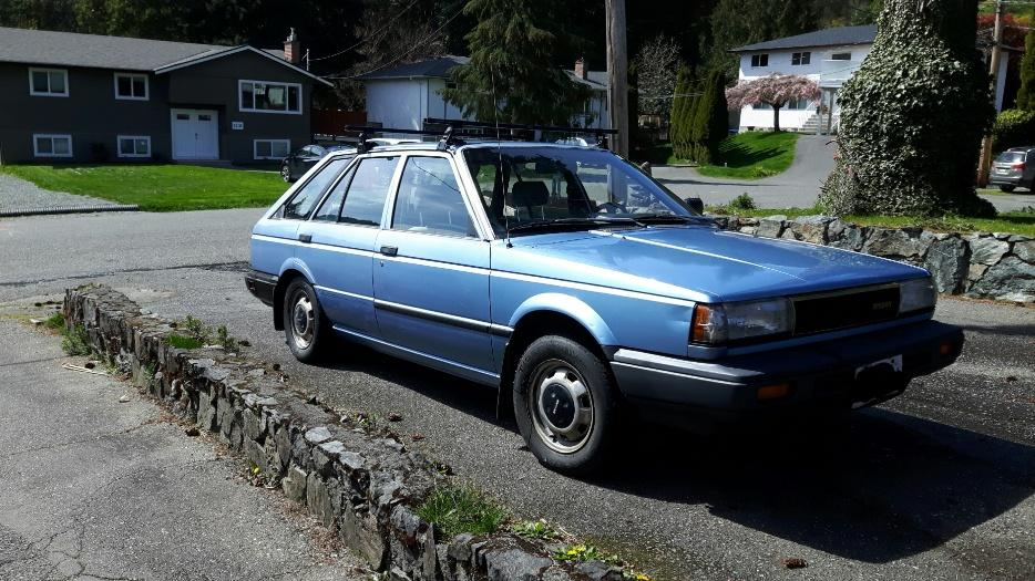 For Trade 1988 Nissan Sentra West Shore Langford Colwood Metchosin Highlands Victoria