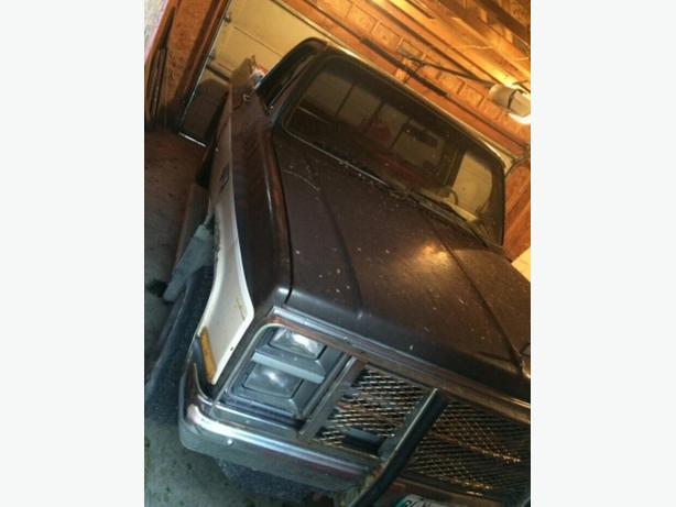 1984 Gmc 4x4 truck