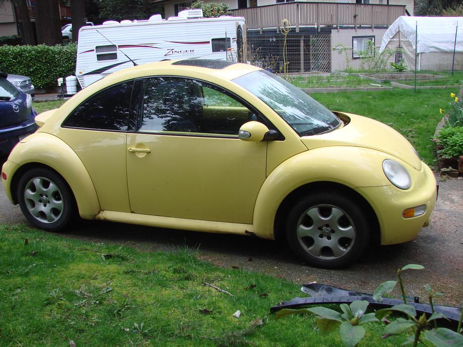Parting Out 2003 Volkswagen New Beetle Tdi Diesel West