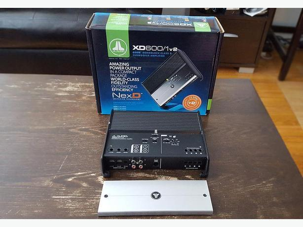 JL Audio XD600 / 1 Mono subwoofer amplifier