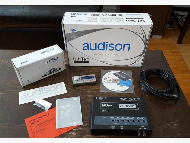 Audison Bit Ten with remote and software