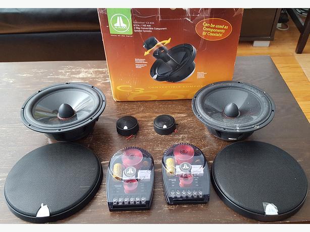 """JL Audio C3-650 Evolution™ C3 Series 6-3/4"""""""