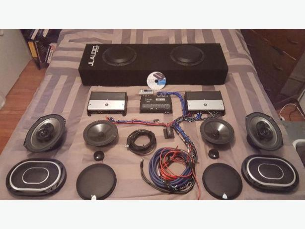 JL AUDIO SYSTEM WITH AUDISON BIT TEN