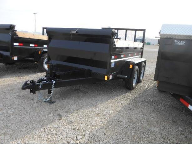 2017 Precision Trailers 6X10 Dump Box HH4026