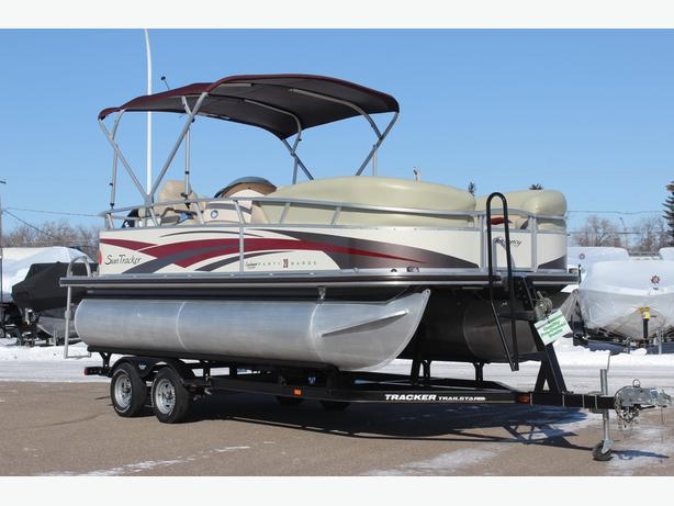 2008 Regency Party Barge 20 w/115 hp 4 stroke