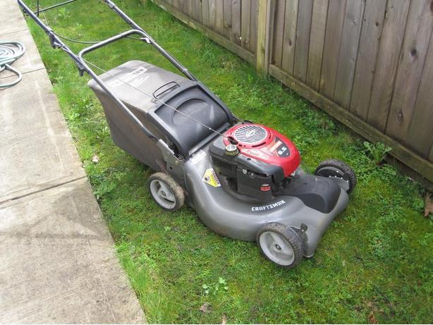 6 5 Hp Self Propelled Rotary Lawn Mower Coquitlam Incl