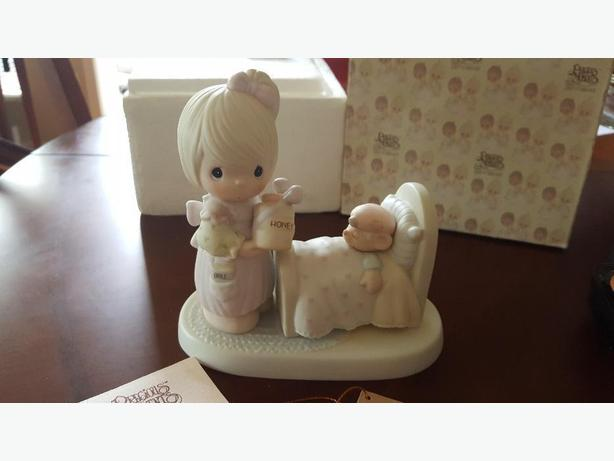 Enesco Precious Moments MAKE ME A BLESSING *MINT IN BOX WITH PAPERS*