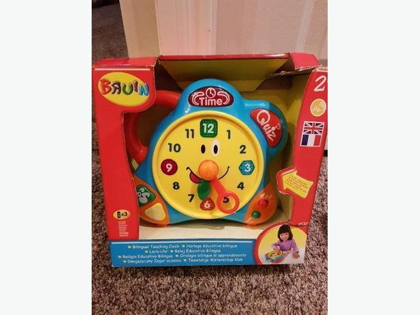 bilingual teaching clock