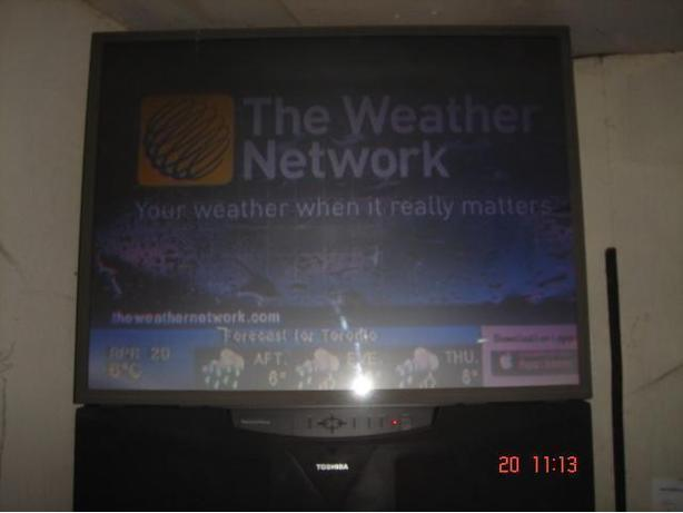 "42"" Toshiba Rear Projection"