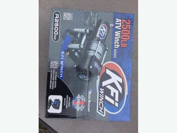 Brand New 2500LBS KFI ATV Winch