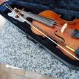 Fine vintge violin with snakewood bow