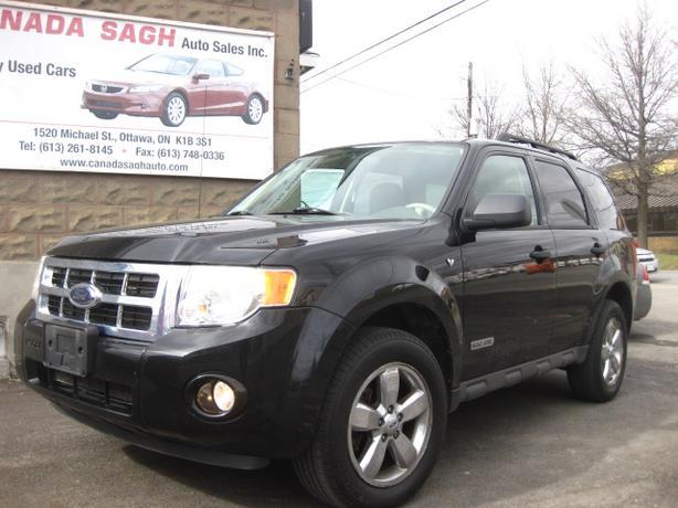 2008 Ford Escape V6 / AWD/ 154km, 12M.WRTY+SAFETY $7500