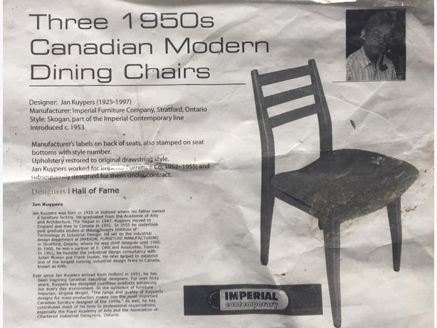 3 Retro, Mid Century, Hardwood Chairs. Ergonomic U0026amp; Sturdy. Victoria  City, Victoria