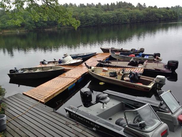 Pet friendly water front cabin rentals on the Madawaska River