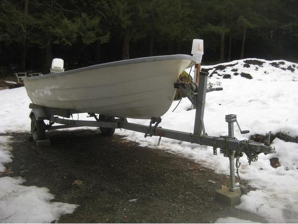 Boat, Motor, and 2003 Trailer - Will Sell Seperatly