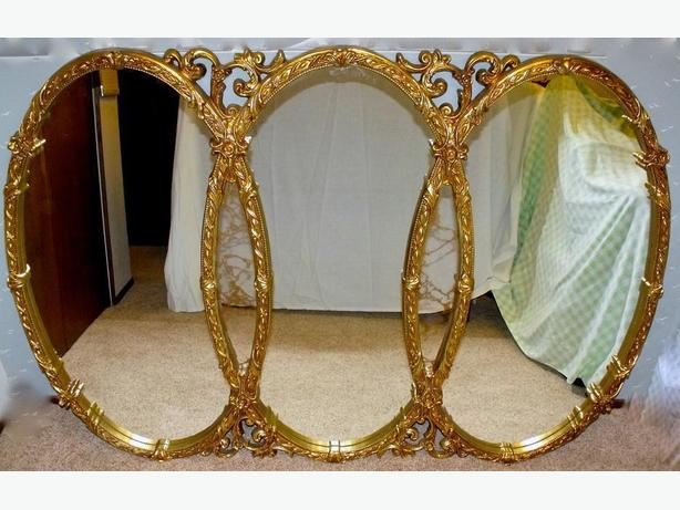 "43"" x 63"" Large wall Mirror Hollywood / Baroque/ Glam/ Vintage"
