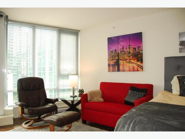 Yaletown Furnished Modern Concrete Condo