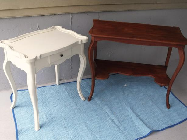 2 French Provincial Tables...worth a L@@k