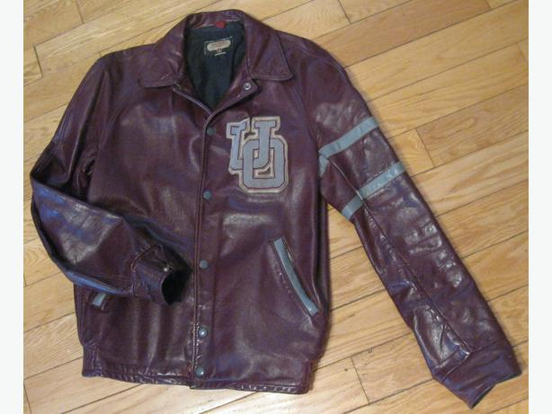 OTTAWA U VINTAGE LEATHER JACKET