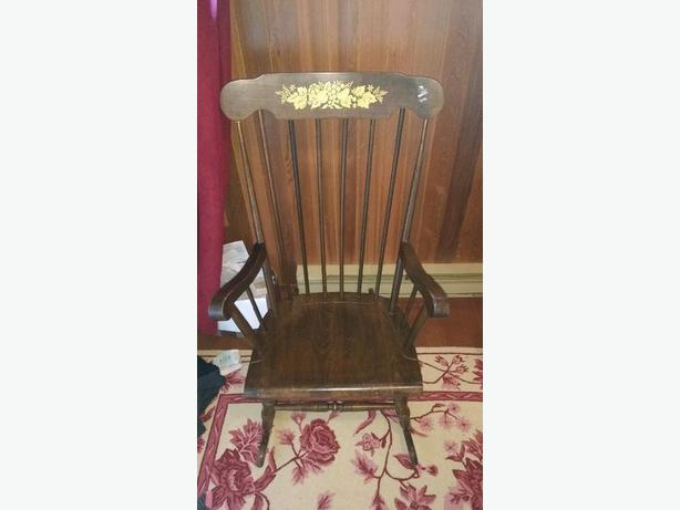 Wooden Rocking Chair OBO