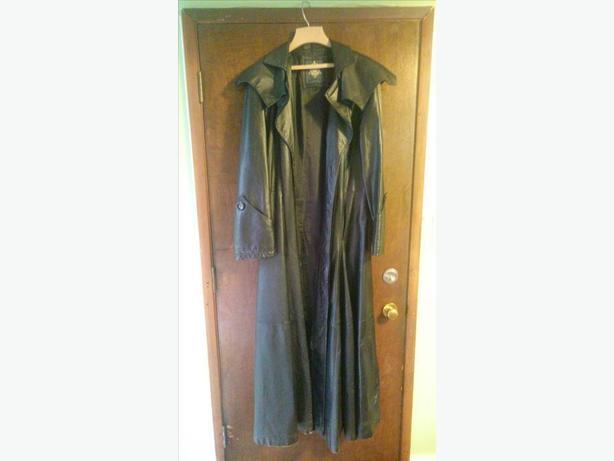 Unique Bad Ass Leather Coat