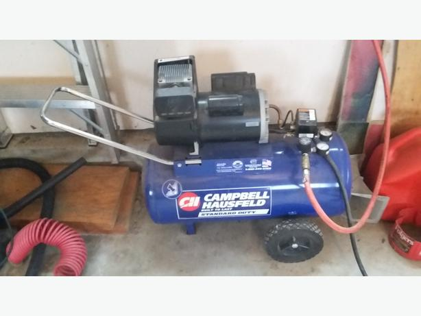 Air Compressor - Campbell Hausfield 4HP