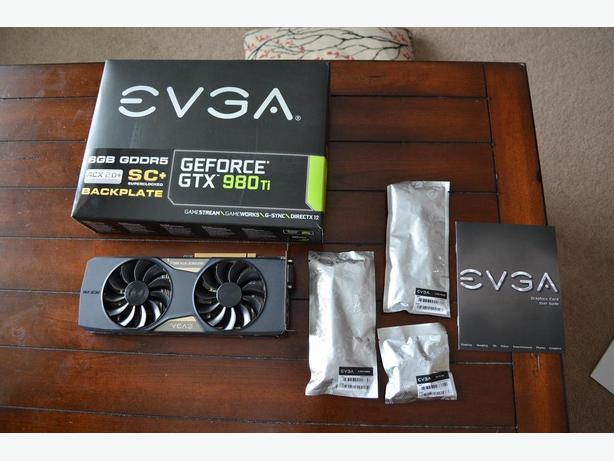 Geforce GTX 980 Ti Video Card