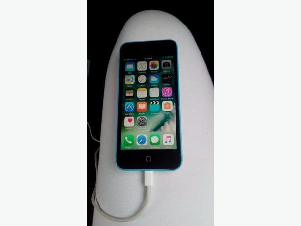 blue Iphone 5c